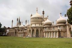o pavilhão real Brigghton levantou o Reino Unido foto de stock