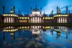 O pavilhão real em Brigghton, Inglaterra Imagem de Stock