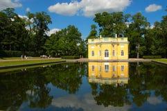 O pavilhão superior do banho Fotografia de Stock Royalty Free
