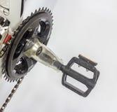 O pedal da bicicleta Imagens de Stock Royalty Free