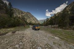 O pelotão do Gendarmerie da montanha alta (PGHM imagem de stock