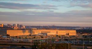 O Pentagon Fotografia de Stock
