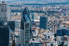 O pepino em Londres, Reino Unido Fotografia de Stock