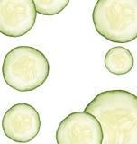 O pepino pode ser cosméticos saudáveis do alimento ou da natureza Fotos de Stock