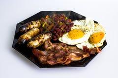 Pequeno almoço britânico tradicional Fotos de Stock