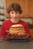 O pequeno almoço surpreendente Fotografia de Stock Royalty Free