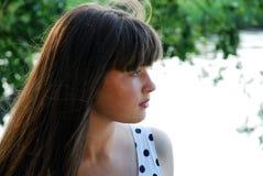 O perfil das meninas Imagens de Stock Royalty Free