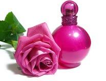 O perfume e levantou-se Foto de Stock Royalty Free
