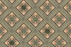 O persa telha o papel de parede Foto de Stock