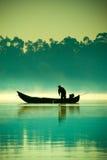 O pescador Imagem de Stock Royalty Free