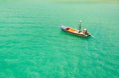O pescador Foto de Stock