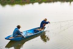 O pescador Fotografia de Stock Royalty Free
