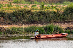 O pescador Imagem de Stock