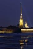O Peter e o Paul Fortress Imagem de Stock
