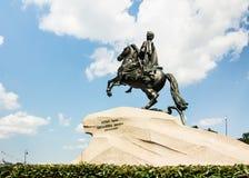 O Peter a grande estátua, St Petersburg Imagem de Stock Royalty Free