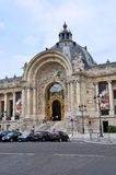 O Petit Palais em Paris, França Imagens de Stock