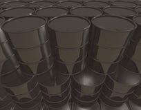 O petróleo enlata o fundo ilustração stock