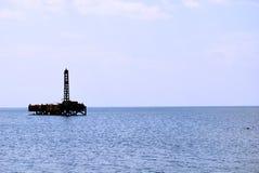 O petróleo explora a estação Fotografia de Stock Royalty Free