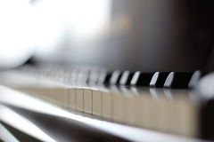 O piano Fotografia de Stock Royalty Free