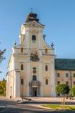 O Piarist Roman Catholic Church fotografia de stock royalty free