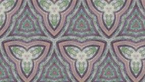 O picchu de Machu circunda o teste padrão abstrato da foto Imagens de Stock Royalty Free