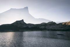 O pico da catedral, dobra exposto Fotos de Stock
