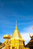 O pico da cultura da história no país de origem do lanna na província do chiangmai fotos de stock