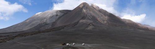 O pico da montagem Etna foto de stock royalty free