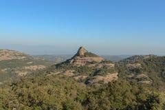 O pico da montanha vista de um outro ângulo foto de stock royalty free