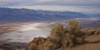O pico de Dante, o Vale da Morte Fotos de Stock Royalty Free