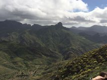 O pico de Gran Canaria Island Foto de Stock