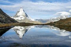 o pico de Matterhorn Fotos de Stock