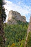 O pico o mais elevado de montanhas do ceahlau Fotografia de Stock Royalty Free