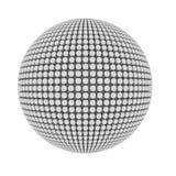 O pimple abstrato cobriu a esfera Fotos de Stock