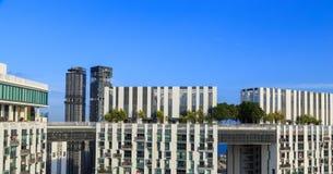 O pináculo Duxton, é um grupo de construções altas para viver Fotos de Stock Royalty Free