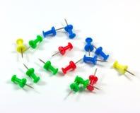 O Pin muitos colore. Imagem de Stock Royalty Free