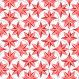 o pino 3D branco grade com as folhas florais listradas Fotografia de Stock