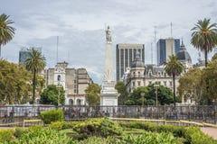 O Piramide de Mayo em Buenos Aires, Argentina Fotografia de Stock