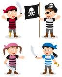 O pirata caçoa a coleção Imagens de Stock Royalty Free