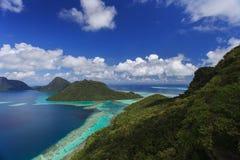 O pitoresco de ilhas de Tropica Fotografia de Stock Royalty Free