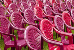 O plástico preside o assento Foto de Stock Royalty Free