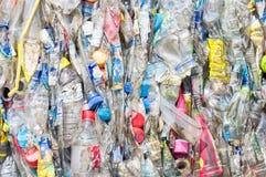 O plástico recicl foto de stock