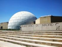 O planetário no Madri fotografia de stock