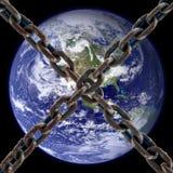 O planeta é fechado Imagem de Stock