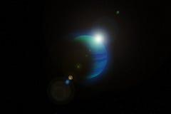 O planeta azul. Nascer do sol Fotografia de Stock