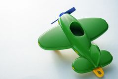 O plano das crianças verdes fotografia de stock