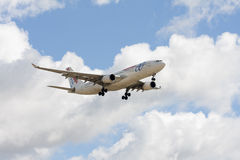 O plano de Air Europa Imagem de Stock