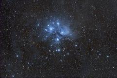 O Pleiades Imagem de Stock