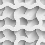 O plexo abstrato do Livro Branco acena 3d sem emenda Imagem de Stock