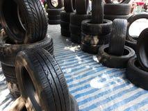 O pneu foto de stock